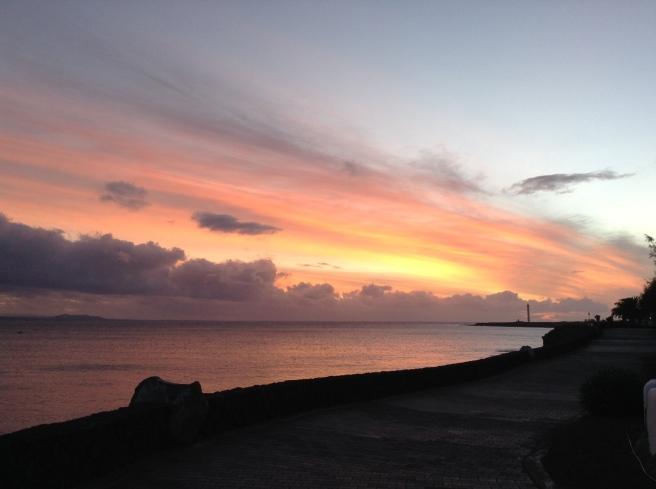Sunset - Photo at 2CRG