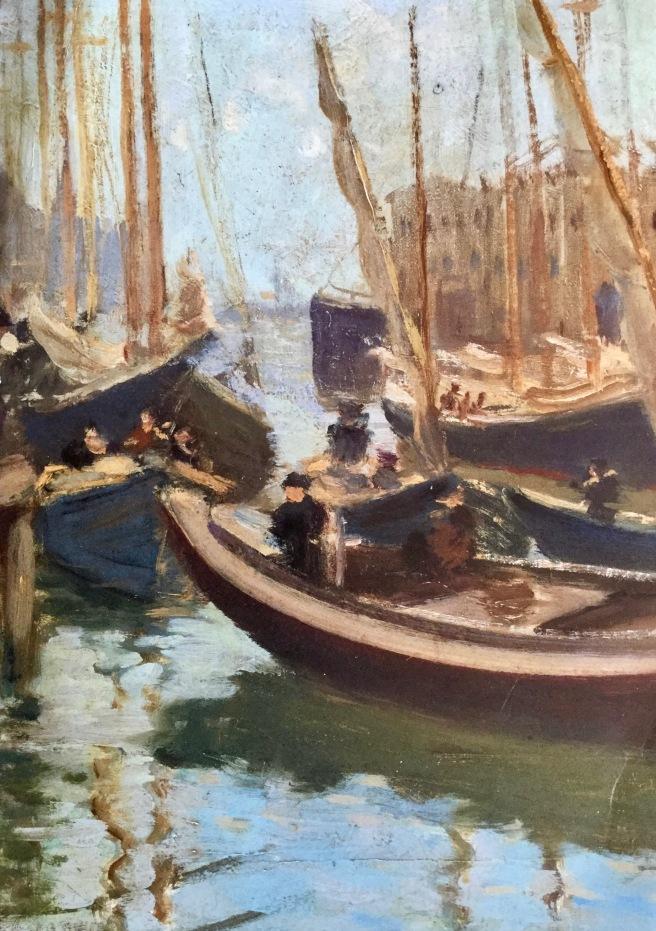 a c goodwin | boston harbour i